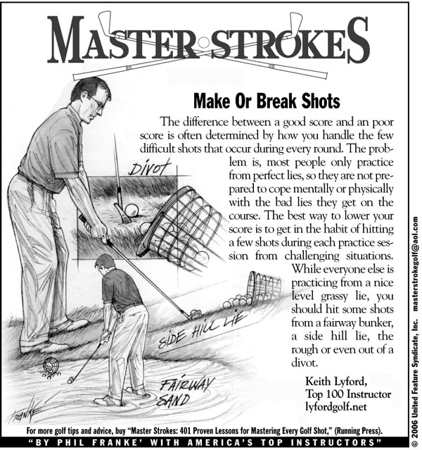 Make or Break Shots